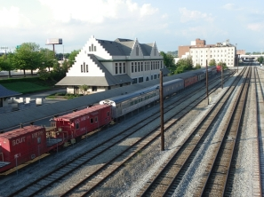 Train tracks in Knoxville, TN