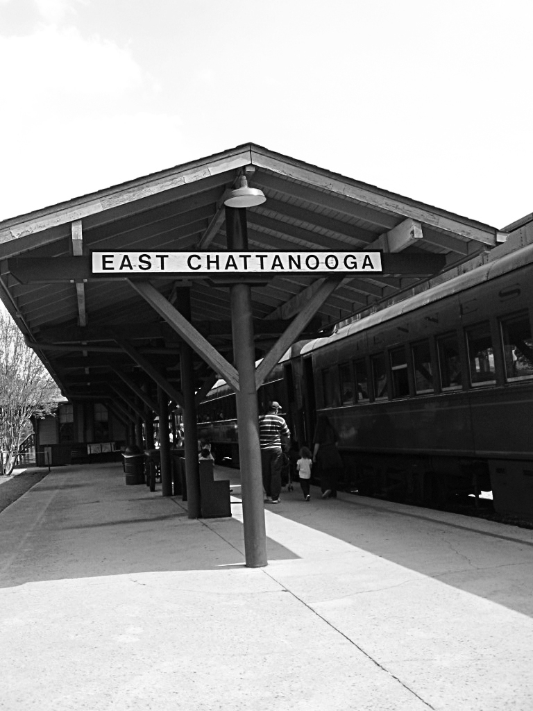 At the Tennessee Valley Railroad Museum.