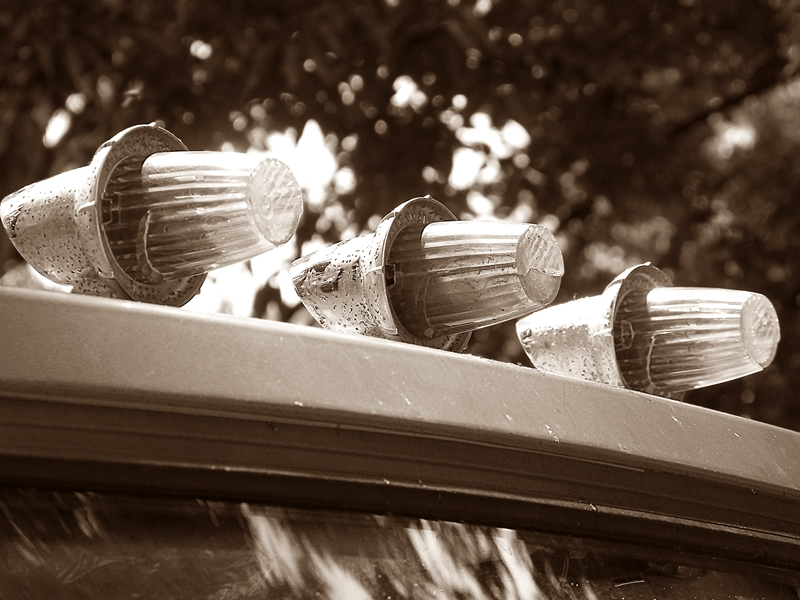 Truck Lights - Sepia