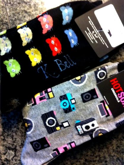 Wacky socks