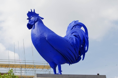 """Hahn/Cock"" by artist Katharina Fritsch"