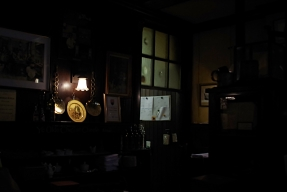 Inside Ye Olde Cheshire Cheese