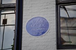 Karl Marx Plaque