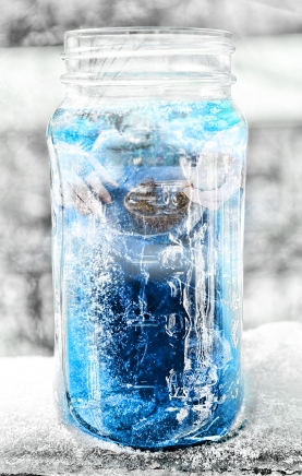 blue ice jar 2201 with hands sm