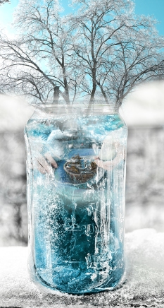 blue ice jar 2201 with tree and hands sm