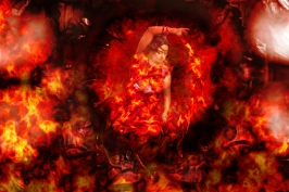 Fire Goddess ©Sharon Popek 2016