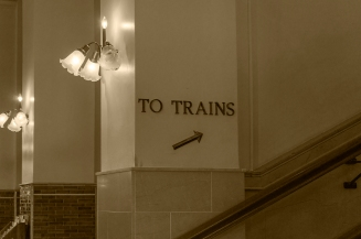 Interior of the Main Street Station in Richmond, VA.