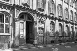 Budapest Bookstore BW by Sharon Popek