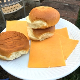 buns and cheese